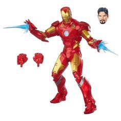 Boneco Marvel Legends - Homem de Ferro - Hasbro