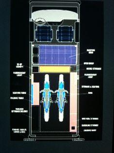 Van layout