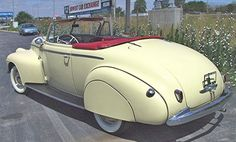 1940 Oldsmobile F Series 60 Convertible: Drivers Side Rear View