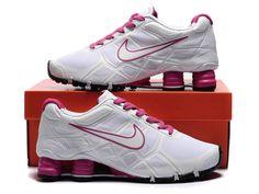 Nike Shox -Turbo12 Women White-Pink Shoes