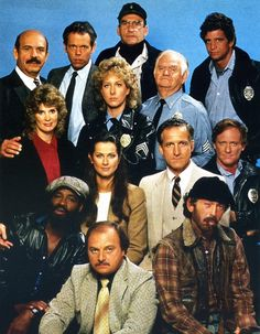"""A strong ensemble cast was key to """"Hill Street Blues"""" successful 7 year run on NBC 80 Tv Shows, Old Shows, Great Tv Shows, Radios, Nostalgia, Old Time Radio, Ensemble Cast, Cinema, Actrices Hollywood"""