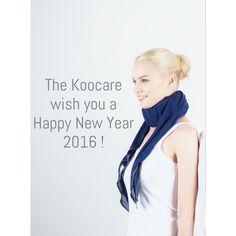 Happy New Year 2016 ! Portez votre #minerve sans en avoir l'air avec #TheKoocare ! #Echarpe #intelligente pour  #collier #cervical #minerve #neckbrace #cervicalcollar #fashion #amazing #comfort #madeinfrance #look #beauty #health #technology #medical #scarf #silk available on www.theKoocare.com