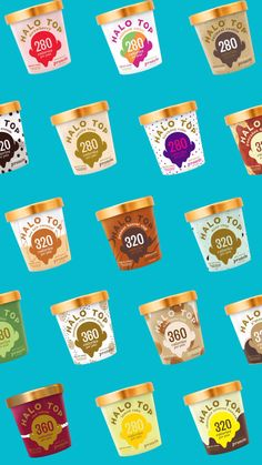 Try America's ice cream. Halo Top is delicious ice cream for just cal… Try America # 1 Ice cream. Halo Top is delicious ice cream for only calories per pint! Ice Cream Poster, Ice Cream Packaging, Ice Cream Brands, Food Graphic Design, Ads Creative, Motion Design, Dessert, Food Photography, Snacks