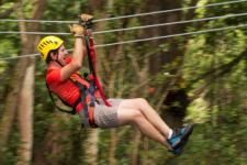 The Kohala Canopy Adventure includes 9 ziplines, 5 suspension bridges, 2 rappels as well as a short hike! Save on the price when you book with Hawaii Discount! #kohala #zipline #bigisland #hawaiidiscount
