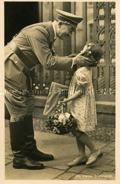 Hitler and girl