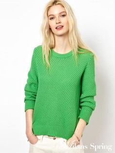 2014 New Winter Lady Knitted Sweater Pineapple