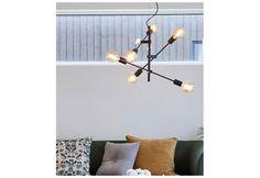 Cross taklampe MS Sort | Best på lys Sorting, Chandelier, Ceiling Lights, Lighting, Design, Home Decor, Rome, Candelabra, Decoration Home