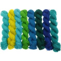 Fifties Gradient - Farbpalette Meeresfarben