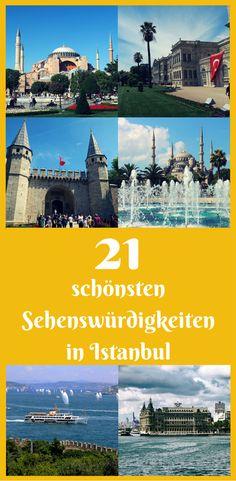 Die 21 schönsten Sehenswürdigkeiten in Istanbuls findest du jetzt in einer einzigen Liste! Ich habe alle 21-Top Sehenswürdigkeiten und ein paar Gehemitipps der Stadt in meinem Beitrag beschrieben. Dazu kommen Tipps zur Anreise, dem Eintritt und Geldsparen während dem Sightseeing in Istanbul. Am Ende meiner Liste findest du noch eine Karte mit allen Sehenswürdigkeiten in meiner Liste. Meinem Blogbeitrag findest du unter diesem Link: http://www.tuerkeireiseblog.de/sehenswuerdigkeiten-istanbul/