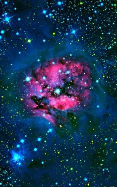 "Cocoon Nebula: Wow look at those colors. ""D'eb"