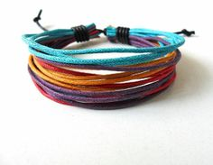 Hemp ropes bracelet  women bracelet girls by braceletbanglecase, $3.00