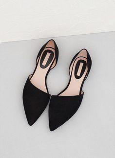 Sapato baixo e elegante