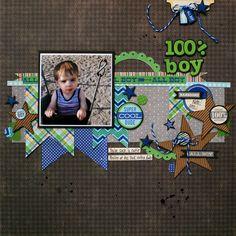 100%+Boy+ - Scrapbook.com