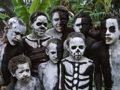 People of Papa New Guinea.
