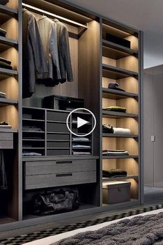 The best of luxury closet design in a selection curated by Boca do Lobo to inspire interior designers looking to finish their projects. Discover unique walk-in closet setups by the best furniture makers out there. Best Wardrobe Designs, Wardrobe Design Bedroom, Modern Wardrobe, Closet Designs, Closet Bedroom, Wardrobe Ideas, Master Closet, Master Bedroom, Bedroom Storage