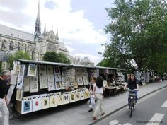 less touristy things to do in Paris-bouquinistes
