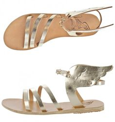 ANCIENT GREEK SANDALS... Can we get them made in Greece? Fashion and global economic improvement in one click! ;)