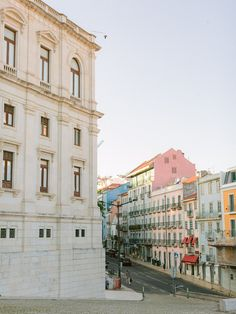 Lisbon streets in the sun set light Lisbon Portugal, Algarve, Destination Wedding Photographer, Couple Photography, Street View, Architects, Sunset, Engagements, Porto