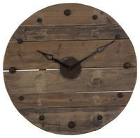 Salvage Clock eclectic clocks