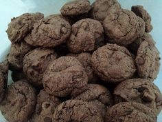 Double Chocolate Cookies with Peanut Butter, gluten free and dairy free.  Amazing!!