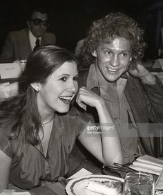 Carrie Fisher and Peter Firth during Annual Golden Apple Awards at Waldorf Astoria in New York City, New York, United States. Get premium, high resolution news photos at Getty Images Peter Firth, Nicola Walker, Star Wars Cast, Hayden Christensen, Leicester Square, Greater Good, Carrie Fisher, Natalie Portman, Princess Leia