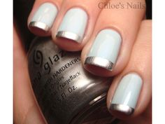 We love the combo of baby blue and pewter. http://www.ivillage.com/wedding-nails-bridal-nails-nail-art-designs/5-a-529600#