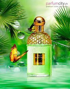 Guerlain Aqua Allegoria Limon Verde Ein Mix voller prikelnder Limetten-und Grüntöne und saftiger, tropischer Früchte