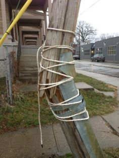 Broken telephone pole? I can fix that!