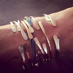 The Bracelets that Caused a Frenzy on Instagram   I want to be her!