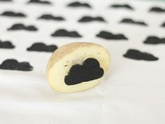 Kartoffelstempel Wolke