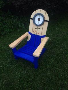 Minion Stuart adirondack muskoka chair