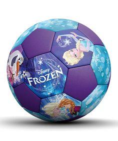Look what I found on #zulily! Frozen Soccer Ball by Frozen #zulilyfinds