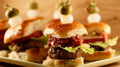 Bloody Bull Burgers with Crunchy Ketchup #whatsfordinner #appetizers #bloodymary