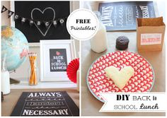 danielle oakey interiors: DIY Back To School Lunch Party!