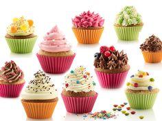Zestaw do przygotowania muffinek Kit Cupcake, wyprodukowany przez hiszpańską firmę Lekue. W skład zestawu wchodzi sześć silikonowych foremek na muffiny w trzech kolorach oraz duży pojemnik do nakładania ciasta i masy kremowej. Wraz z