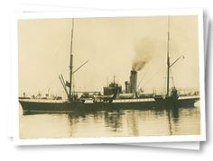 Cable Steamer Mackay-Bennett searched and recovered 306 bodies from the loss of the Titanic.