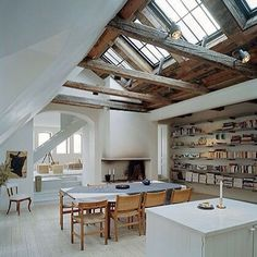 "Fabulous #ceiling #skylights #windows beautiful space! ""Get Inspired, visit: www.myhouseidea.com"""