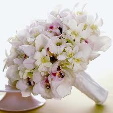 cala & orchid bouquet