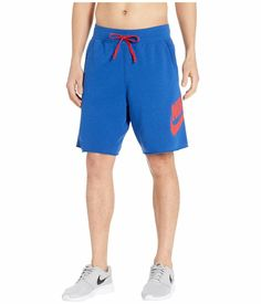 NIKE MENS FLY CELL DRI FIT ATHELTIC Shorts BLUE
