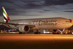 Emirates Airline, Boeing 777, Aeroplanes, Motivational, Aircraft, Heaven, Aviation, Sky, Heavens