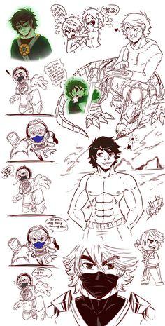 Cole Ninjago_ Doodle 02 by TaleDemon.deviantart.com on @DeviantArt
