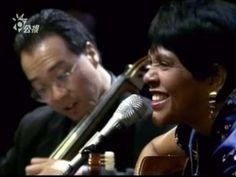 Aguas de Marco (Jobim) Yo-Yo Ma's Brazil, Live Concert, with Rosa Passos in Taipei. The fastest I've ever heard it lol