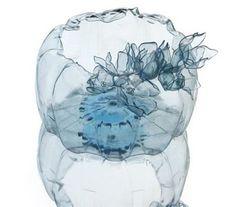 Artful Jellyfish-like Bowls From Upcycled Plastic PET Bottles (Photos) : TreeHugger