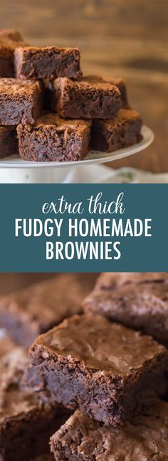 Let me convince you that homemade brownies are better than boxed!