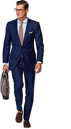 Suitsupply Suits: Soft-shoulders, great construction with a slim fit—our tailored, washed and formal suits are ideal for any situation. Cool Suits, Suits You, Mens Suits, Suit Supply, Elegant Man, Formal Suits, School Fashion, Gorgeous Men, Stylish Outfits