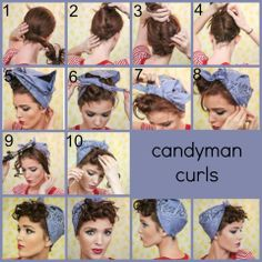 73 Best Halloween Images Vintage Hairstyles 1950s 1950s