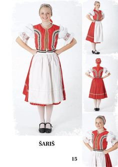Šariš, Slovakia Folk Costume, Costumes, Folk Fashion, European Countries, Czech Republic, Dress Up Clothes, Fancy Dress, Bohemia, Men's Costumes