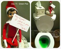 LOVE these Elf on the Shelf ideas from The Baking Sheet