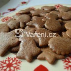 Fotografie receptu: Hned měkké vánoční perníčky Candy Cookies, Gingerbread Cookies, Gingerbread Recipes, Truffles, Dog Food Recipes, Party Time, Food And Drink, Easter, Cooking