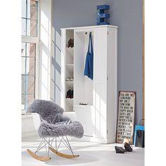 Schaukelstuhl Eames Rocking Chair RAR, Ahorn, Metall, Polypropylen Katalogbild